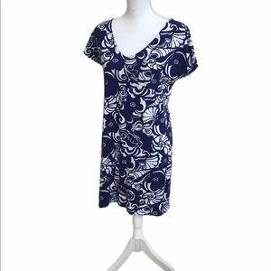 Lilly Pulitzer t shirt keyhole dress.  GUC